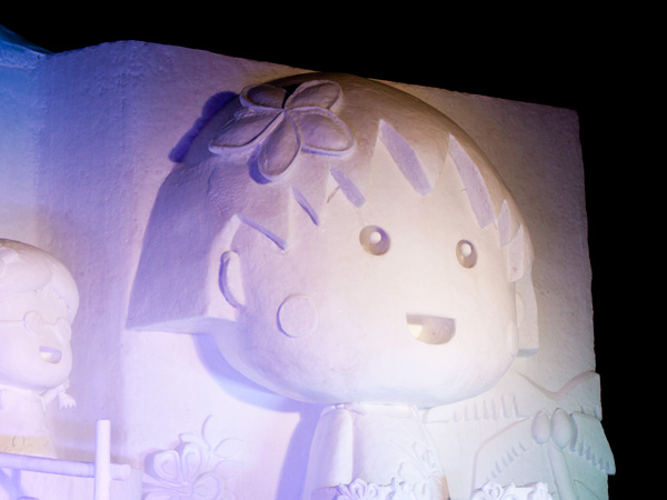 ちびまる子ちゃんの大雪像